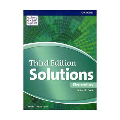 Solution Third Edition Elementary