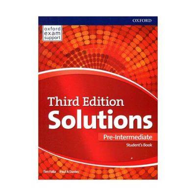 Solution Third Edition Pre-Intermediate