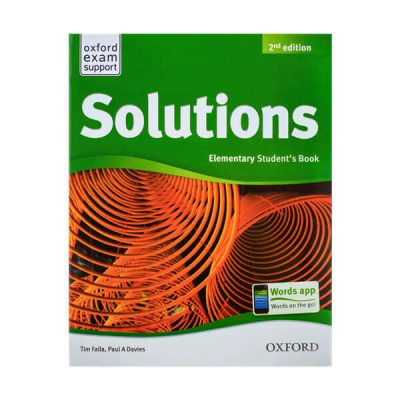 Solutions second edition oxford upper -elementary teens