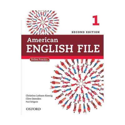 american englisg file 1 second edition