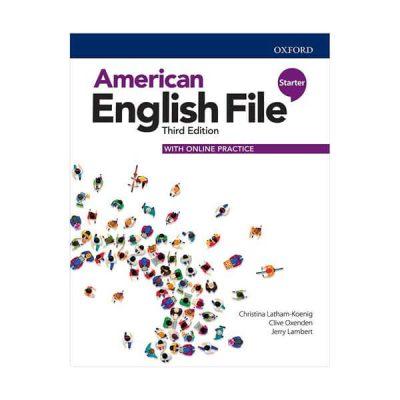 american english file starter third edition