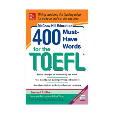 400 Words for the Toefl Mc Graw Hill education