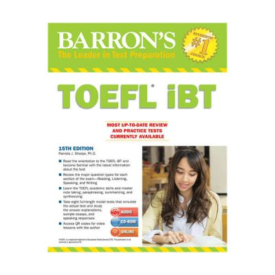 Barron's TOEFL iBT 15 th edition