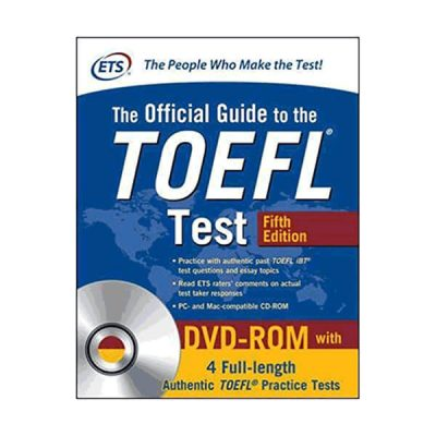 Ets the official guide to the Toefl Test 5 th edition