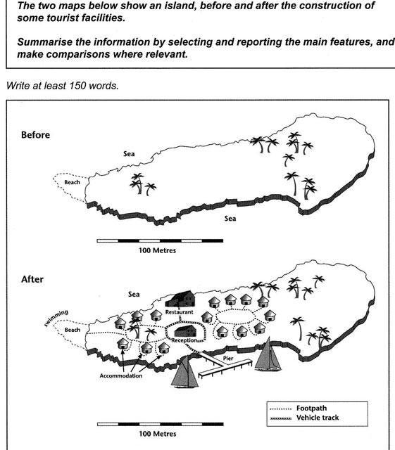 نمونه های نقشه در آیلتس 1