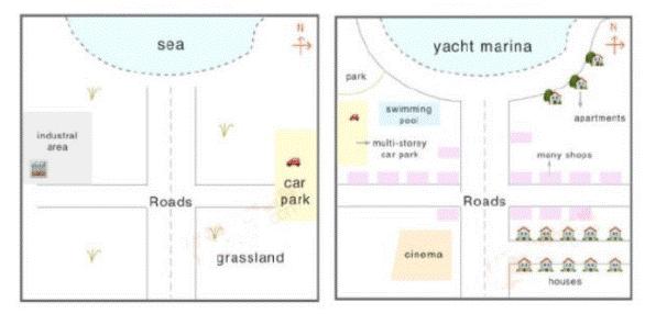 نمونه های نقشه در آیلتس 3